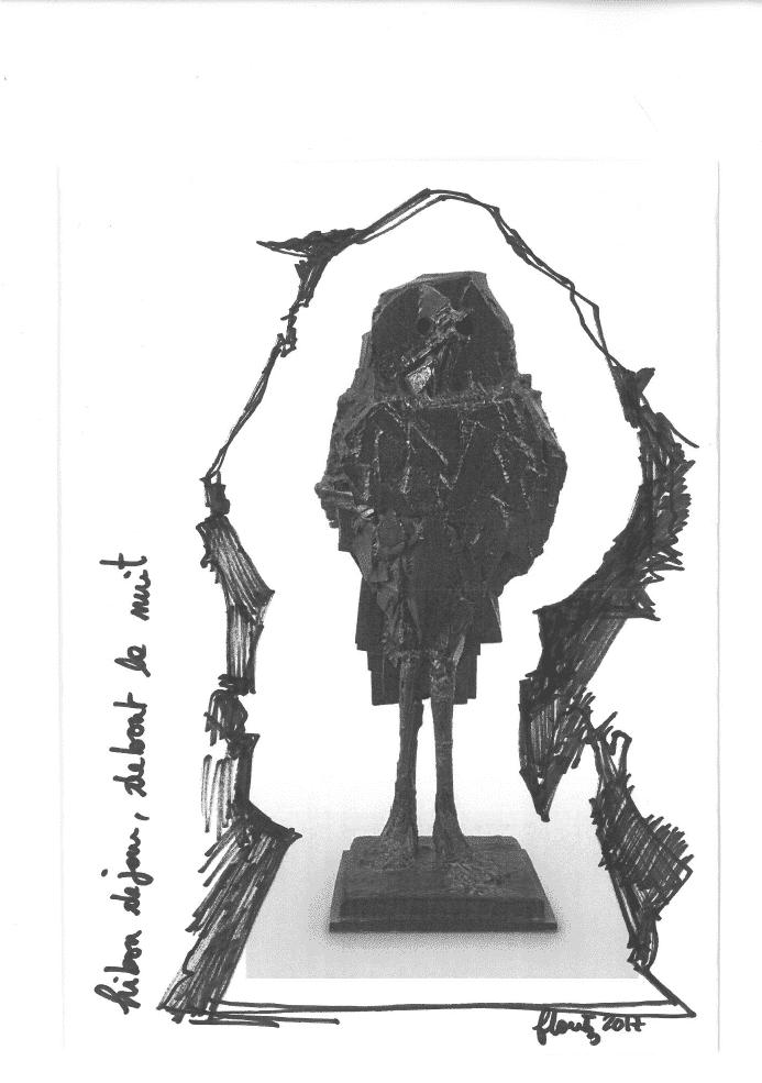 Autour d'une œuvre de César : Le Hibou